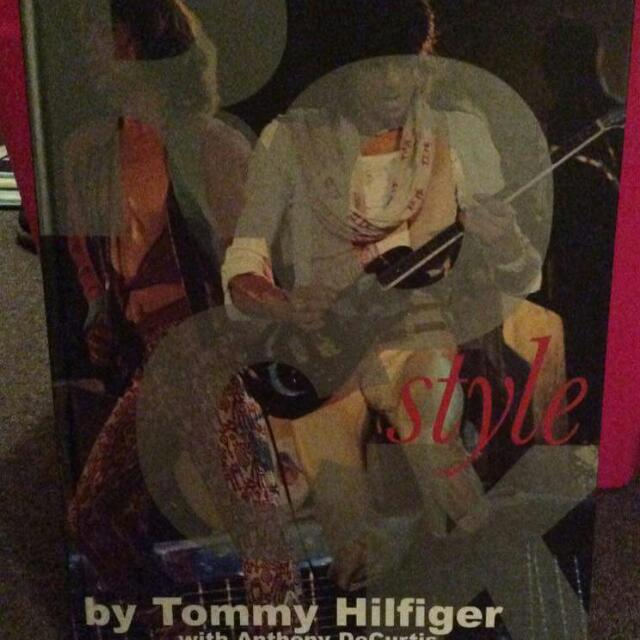 Rock Book By Tommy Hilfiger