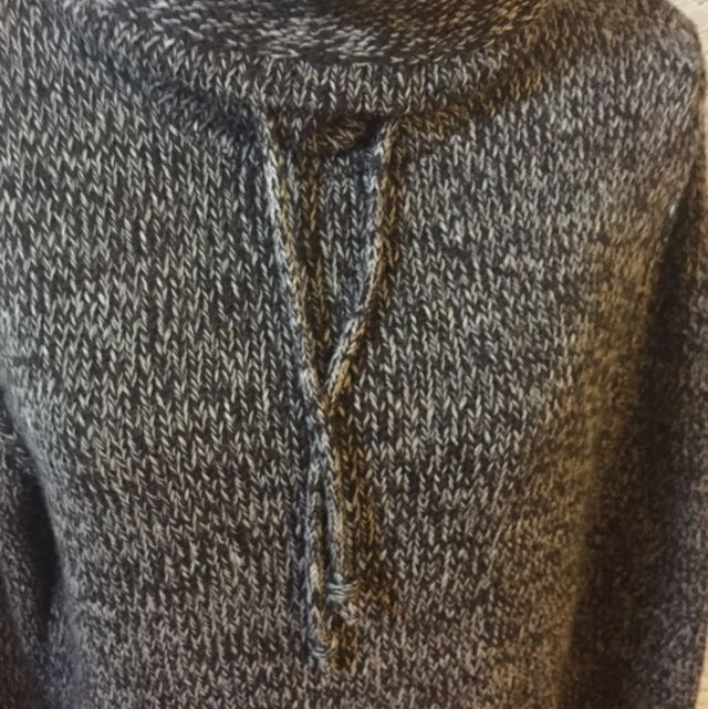 **RESERVED** SALT & PEPPER SWEATER