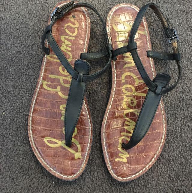 Sam Edelman Tbar Sandals Size 37