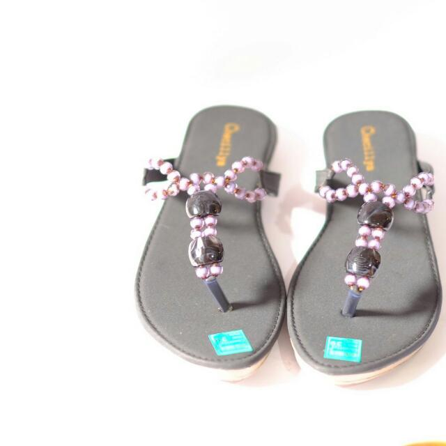 SANDAL PEARL PURPLE