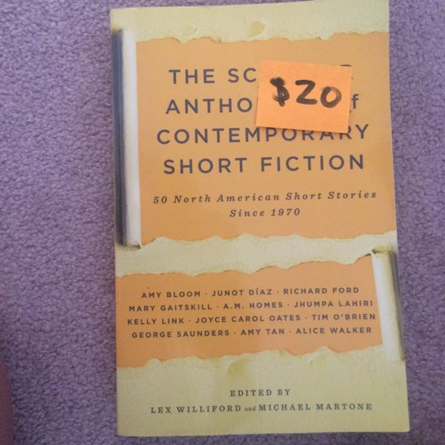Scribners Anthology Of Contemporary Short Fiction