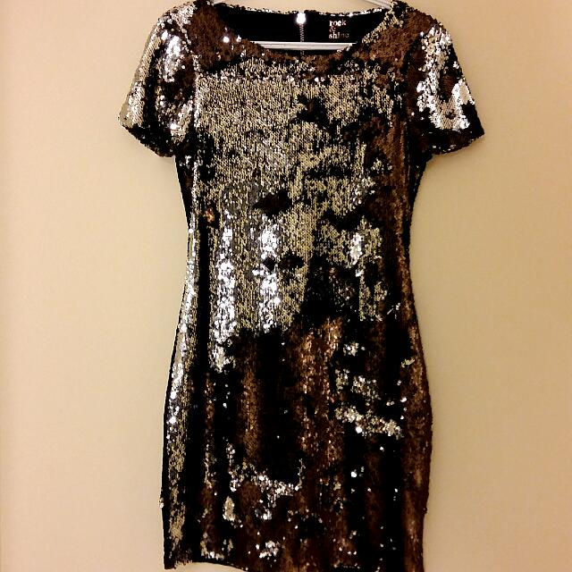 Sequin Party Dress (Flip Sequin)