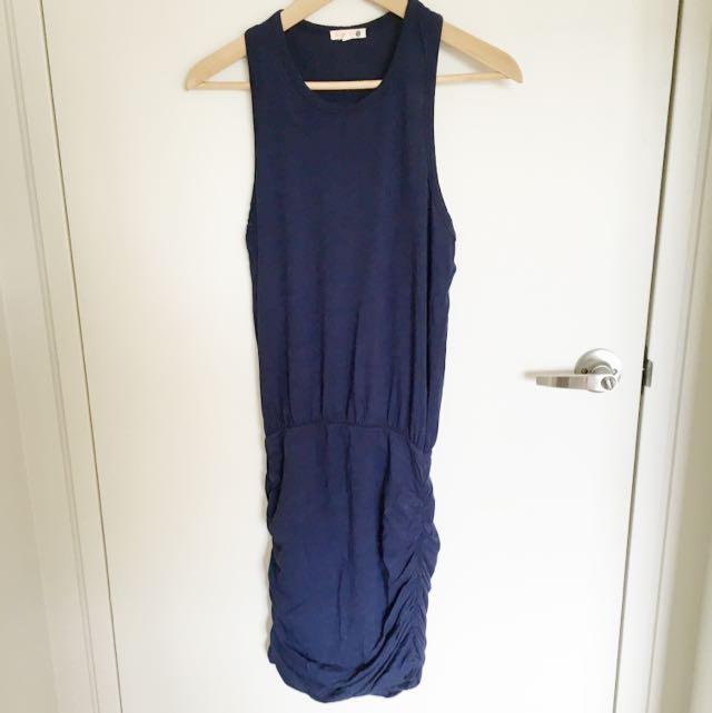 Sleveless Blue Sundry Dress