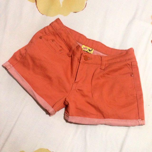 Soft Orange Short