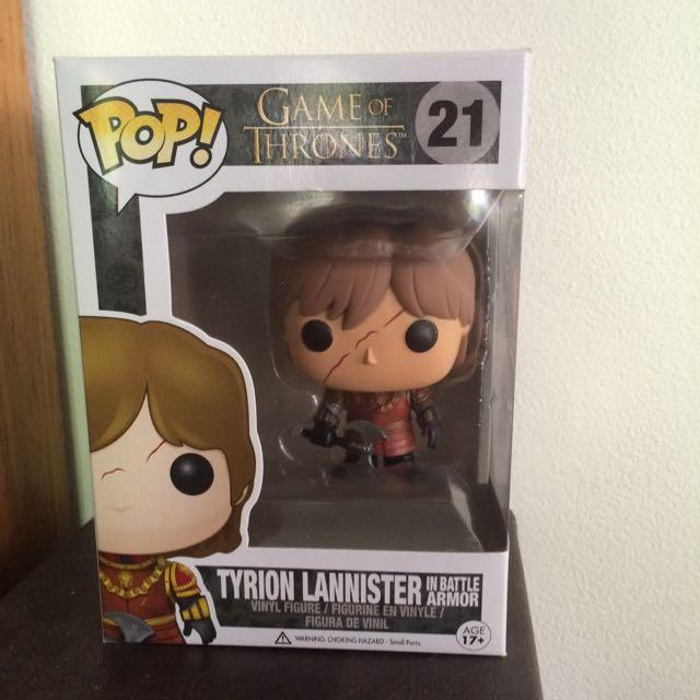 Tyrion Lannister Pop Binyl