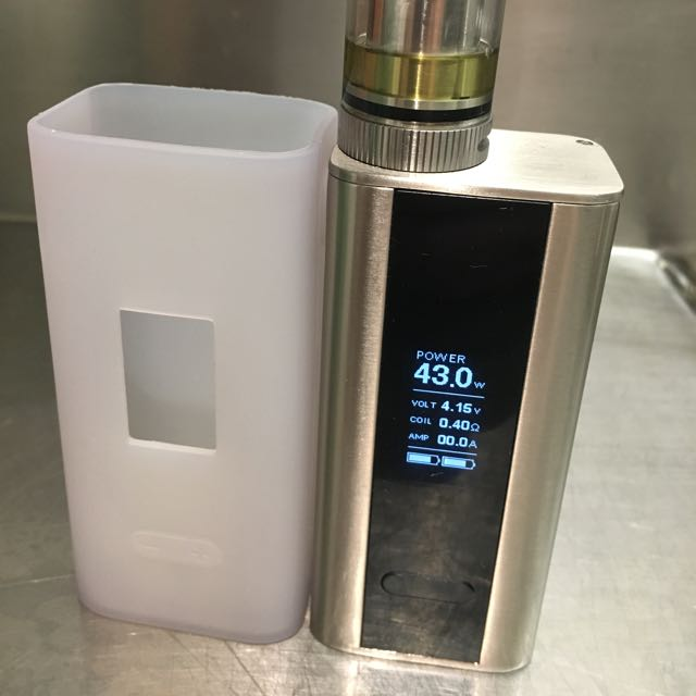 Electronic Cigarette Vape Cuboid 150w Stainless Steel Version