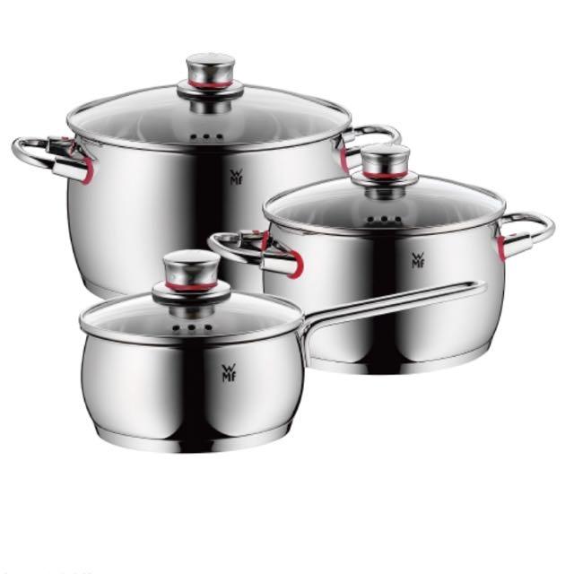 ☑️限量☑️送折價卷/WMF Quality One 鍋具三件套組🔚結單至10/05