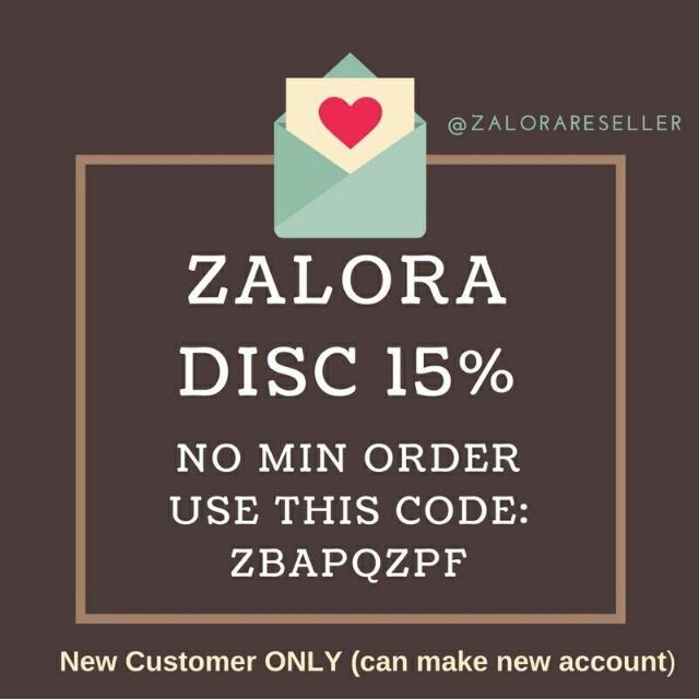 ZALORA DISC 15%