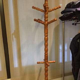 木製吊衣架