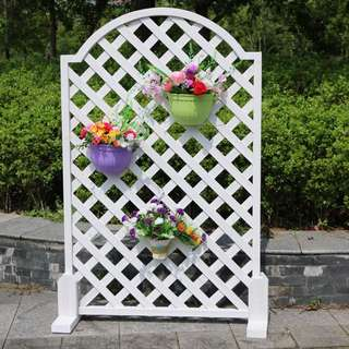 Special Offer - White Wooden Country Style Fence
