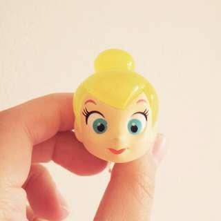 迪士尼 彼得潘 小仙子 小精靈 發光 扭蛋