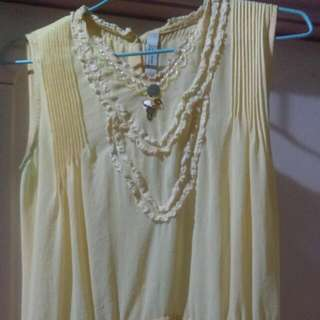 K.suey雪紡長洋裝