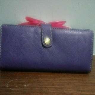 紫色錢包(含運)