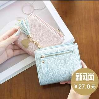 Mini Blue Wallet