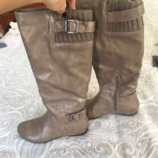 Call It Spring Fall Boots Size 6