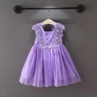 👑特價出清-紫色紗裙👑