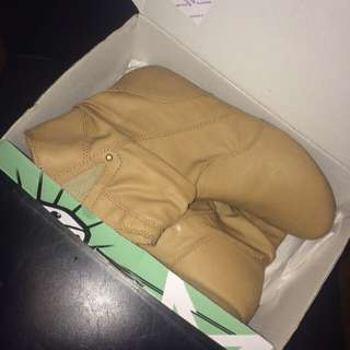 Tan Boots Size 9