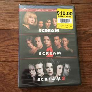 Scream Trilogy : BRAND NEW
