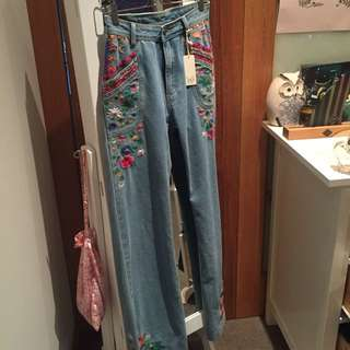 PENDING Spell Flare Jeans Size S/8