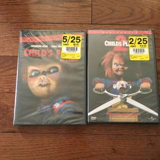 Child's Play 1 & 2 : BRAND NEW