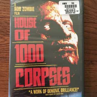 House Of 1000 Corpses : BRAND NEW