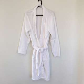 White Bathrobe - NEVER WORN