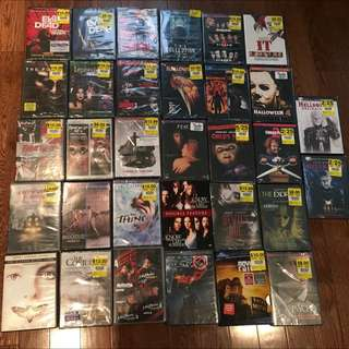 Huge Lot Of Classic Horror Movies For CHEAP