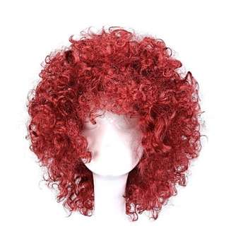 Curly Red Wig