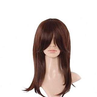 Medium Brown Wig