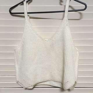 Wool Crop Top