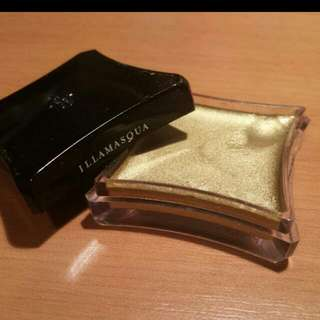 Illamasqua cream base eyeshadow - Gold Solstice Metallic -