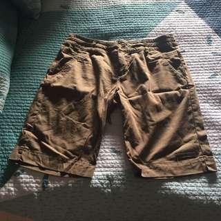 Vigilante Kahaki Shorts Size 12