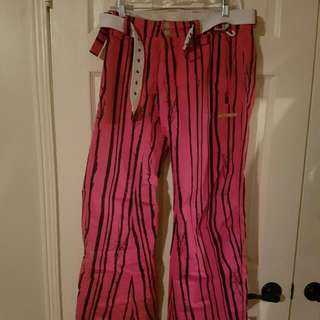 Pink Snowpant