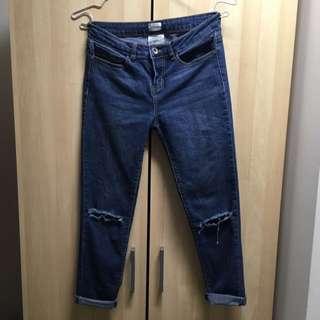 Sneakpeak Jeans Ankle Skinny Fit