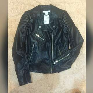 H&M PU Jacket (New Brand With Tag)