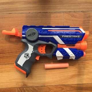 NERF FIRESTRIKE TOY GUN WITH SOFT FOAM BULLET