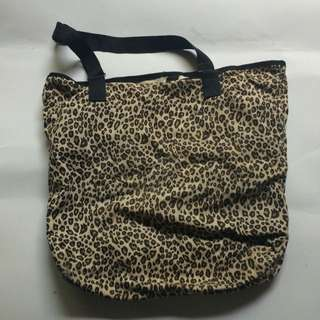 Kanvas Bag Tiger Print
