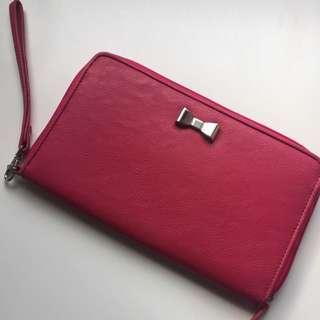 Pink Travel wallet