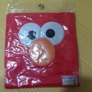 大阪環球影城 Elmo雨衣