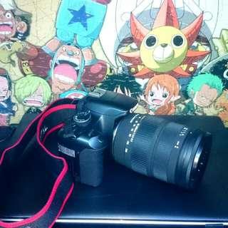 Canon 450D + Sigma 18-200mm Lens