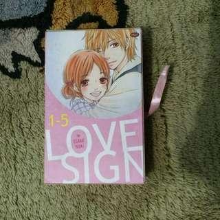 Love Sign 1 - 5