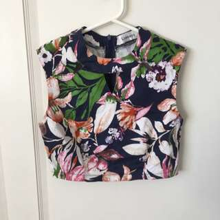 Size 8 Crop Shirt