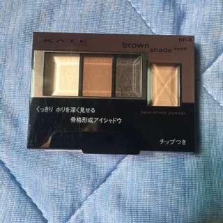 KATE 凱婷 3D棕影立體眼影盒 BR-6