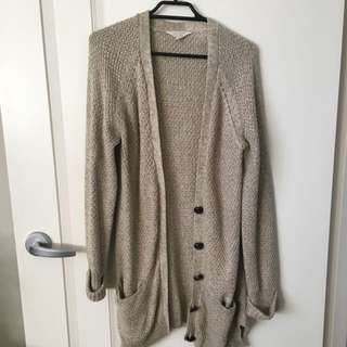 Very Warm Medium Length Cardigan