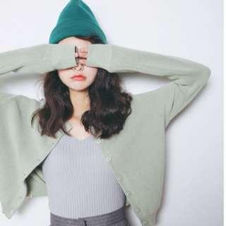 🌟韓國東大門素色長袖針織衫🌟