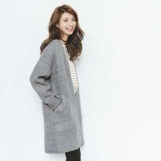 🌟長版開衫針織毛衣外套🌟