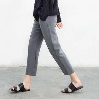 🌟高腰休閒寬鬆九分西裝褲🌟