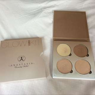 Preloved Anastasia Beverly Hills ABH That Glow Glow kit