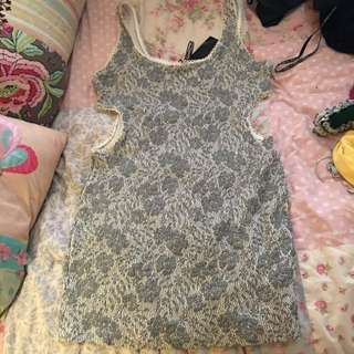 Gripp Jeans Cutout Dress M/L