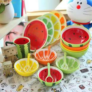 現貨 小清新 水果陶瓷餐具